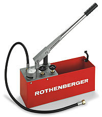 Rothenberger Hydrostatic Test Pump